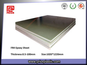 High Voltage Resistance Fr4 Epoxy Glass Sheet pictures & photos