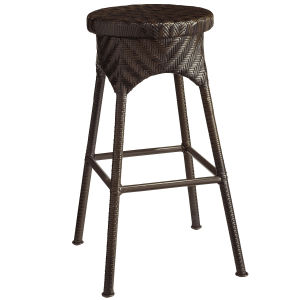 Outdoor Rattan Patio Furniture Garden Wicker Bar Chair Stool