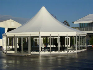 PVC Coated Awning Tarpaulin Tent (1000dx1000d 23X23 700g) pictures & photos