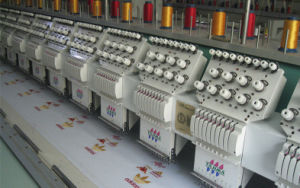 High Speed Computerized Embroidery Machine for Fabric/Cuatain/Cloth