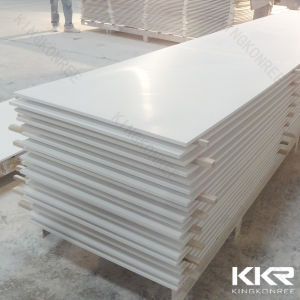 12 mm White Color Acrylic Stone Solid Surface Wall Panel pictures & photos