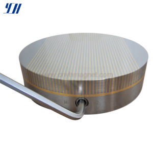Fine Pole Round Permanent Magnetic Chuck for Grinding (P: 1+3)
