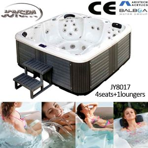 Factory Direct-Selling Outdoor SPA/Acrylic Whirlpool SPA Tub Jy8017 pictures & photos