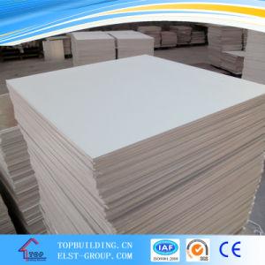 PVC Laminated Gypsum Ceiling Tile 603*603*9mm/238 572 996 Design Decorative Gypsum Ceiling Panel pictures & photos