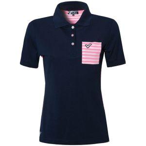Wholesale Ladies Cotton Pique Polo Shirts (ELTWPJ-278) pictures & photos