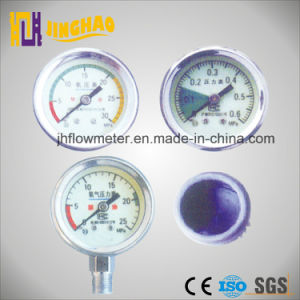 Lifesaving Luminous Pressure Gauge Used for Apparatus Respiratorius (JH-YL-G) pictures & photos