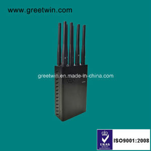 8 Channels Portable Signal Jammer/Cell Phone GPS WiFi Jammer (GW-JN8) pictures & photos