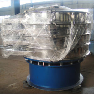 Rotary Vibrating Screen Separator for Cocoa Powder pictures & photos