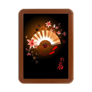 Wall Mounted Snap Poster Frame Wood Color Frame pictures & photos