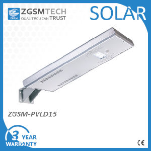 15W Integrated All in One Solar Street Light 3 Years Warranty pictures & photos