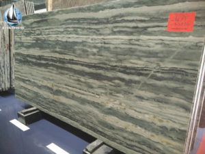 Green Bamboo Veins Marble Slabs pictures & photos