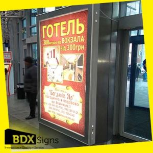 Single Sided Scrolling Light Box for Outdoor Advertising pictures & photos