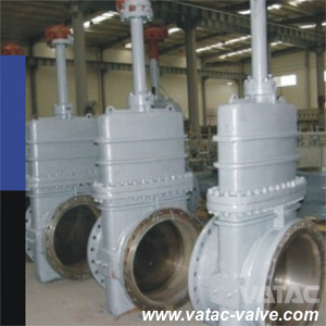 API 6D Full Opening Bolted Bonnet OS&Y Cast Steel Slab Gate Valve pictures & photos