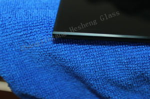 10mm Black Printing Tempered Glass for Table Top pictures & photos