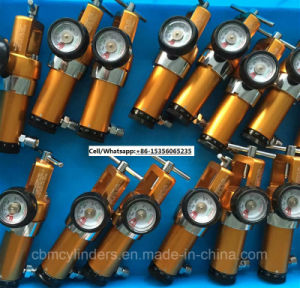 Lightweight Ambulance Breathing Oxygen Cylinders Made From Aluminum Alloy Al6061 pictures & photos