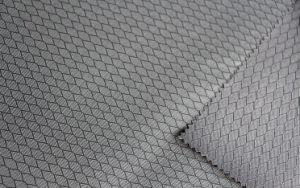 Polyester Diamond Oxford Jacquard Fabric for Bag/Luggage