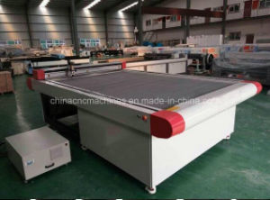 Oscillating Blade Cutting and Creasing Corrugated Carton, Cardboard Cutter Plotter CNC Machine pictures & photos
