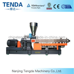 Masterbatch Plastic Twin Screw Extruder with Ce Certificated pictures & photos