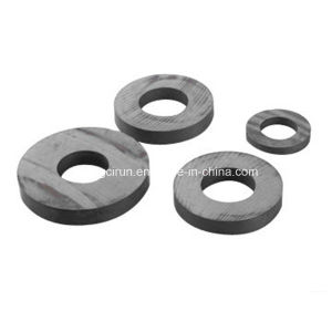 Cheap Price Black Ferrite Small Ring Magnets pictures & photos