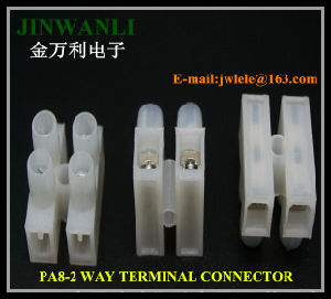 PA8 High Temperature Resistant Terminal Block with Wire Protection pictures & photos