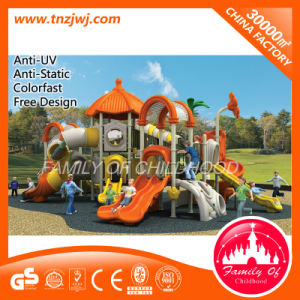Orange Flower Style Roof Slide Outdoor Playground pictures & photos