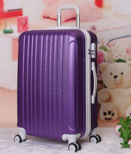 Wholesale ABS Elegant Trolley Luggage Travel Bags pictures & photos