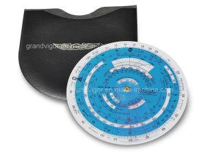 Plastic Circular Flight Computer for Flight Planning pictures & photos