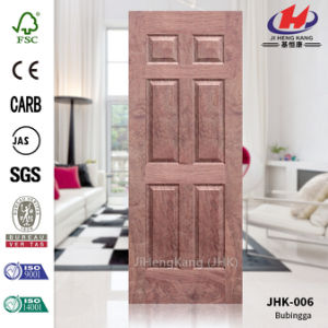 Solid Wood HDF/MDF EV Oak Veneer MDF Door Panel pictures & photos