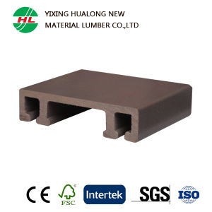 WPC Outdoor Flooring Wood Plastic Composite Decking for Outdoor (HLM25) pictures & photos