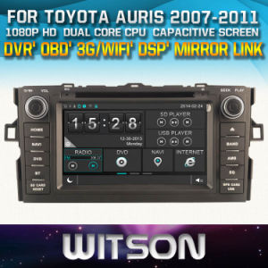 Witson Windows for Toyota Auris 2007-2011 Radio Navigitaon pictures & photos