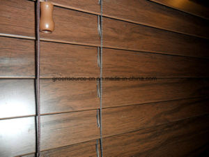 50mm Faux Wood Blind (PVC venetian blind) pictures & photos