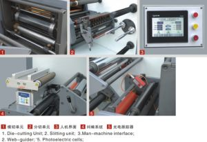 2 Color Flexo Printing Machine+ 2 Die Cutting Station pictures & photos