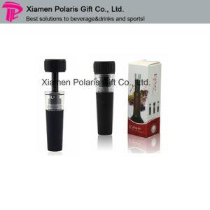 Wholesale Black Plastic Vacuum Bottle Stopper pictures & photos