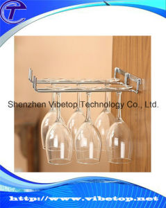 Best Selling Metal Wine Hanging Cup Rack Hcr-001 pictures & photos