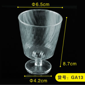 PP/PS Plastic Cup Disposable Cup Wine Glass 5 Oz pictures & photos
