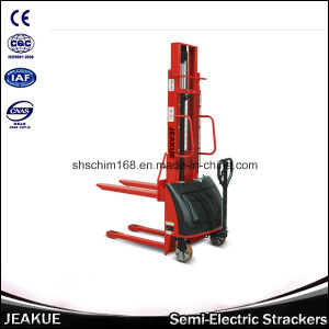 Wide Leg Electric Stacker with 1t pictures & photos