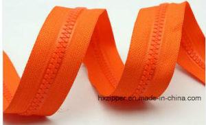 No. 5 Color Tape Long Chain Plastic Cover Zipper