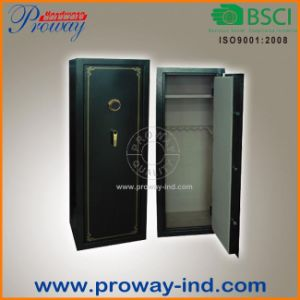 18 Rifle Steel Gun Cabinet Fireproof High Security Gun Safe with 16mm Plaster Board Fireproof Layer pictures & photos