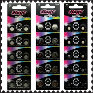 1.55V Silver Oxide Button Cell (397/390/319) pictures & photos