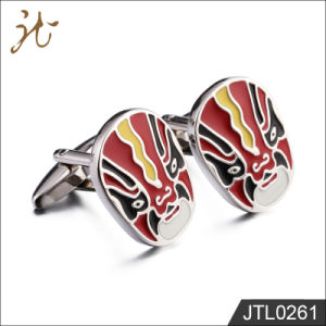 Fashion Nice Quality Mask Design Cuff Links for Promotion pictures & photos