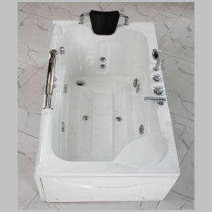 White Color Bubble Water Massage Bath Tub (551) pictures & photos