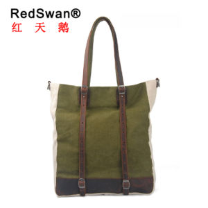 Three Colors Washed Canvas Ladies′s Design Tote Handbag (RS-8588) pictures & photos