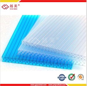 China Good Price Clear Blue Green Polycarbonate Carport pictures & photos