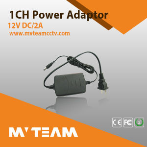 CCTV Camera Power Supply Mvteam Ahd, IP, Cvi Camera Power Adaptor pictures & photos