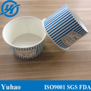 16oz Eco-Friendly Disposable Wholesale PE Coated Paper Milkshake Cups (YHC-072) pictures & photos