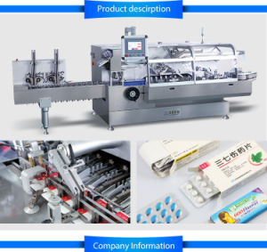 Automatic High Speed Continuous Cartoning Machine (JDZ-260) pictures & photos