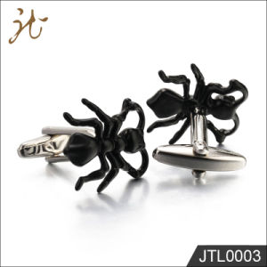 Fashion High Quality Black Ant Metal Cuff Link Wholesale pictures & photos
