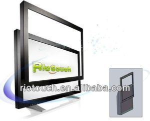 Riotouch 70 Inch USB Powered 10~32 Points Infrared Multi Touch Frame for TV