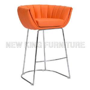 Used Nightclub Furniture Custom Bar Chair with Metal Bar Stool Bases (NK-BCB005) pictures & photos