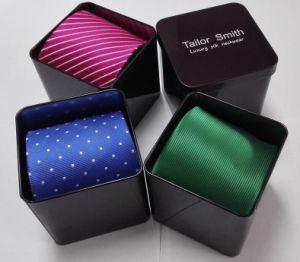 Metal Tin Gift Box for Necktie pictures & photos